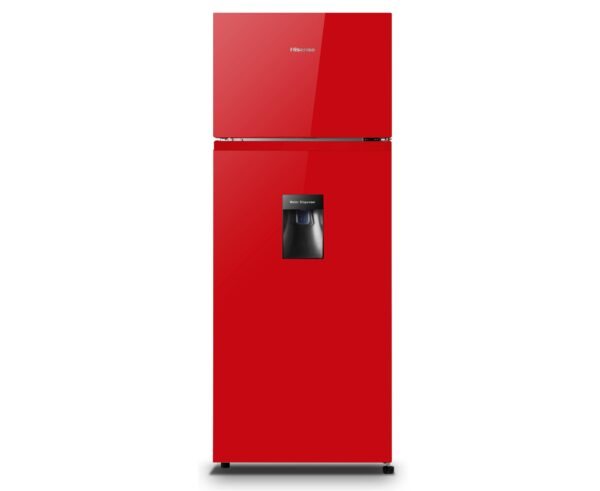 Hisense Red Fridge